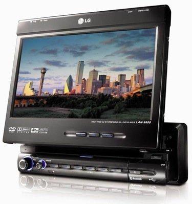 LG LAN-9600R, navegador GPS y algo más