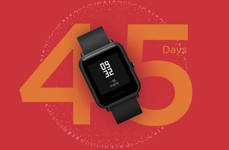 Amazfit Bip Lite a precio bestial en Phone House: el smartwatch de Xiaomi con 45 días de autonomía a 34,99 euros y envío gratis