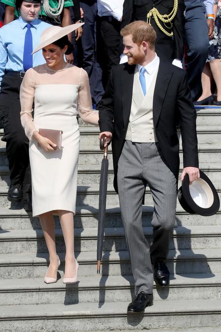 El Principe Harry Se Viste De Chaque Para Su Primer Acto Oficial Como Duque De Sussex 2