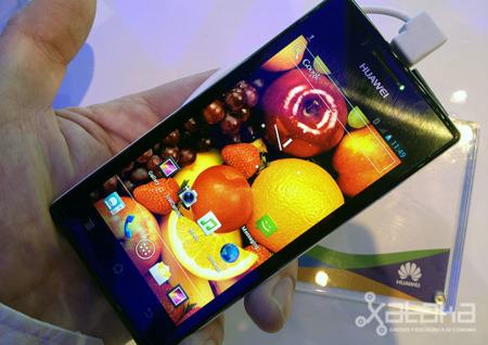 Huawei Ascend P1 S, toma de contacto
