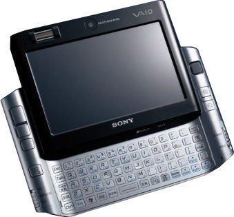 Sony UX50 también con disco NAND de 16 GB