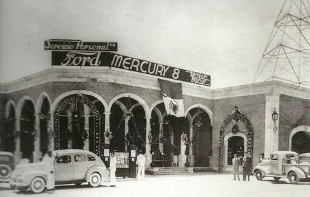 Primera Fabrica De Autos Mexico Ford 8