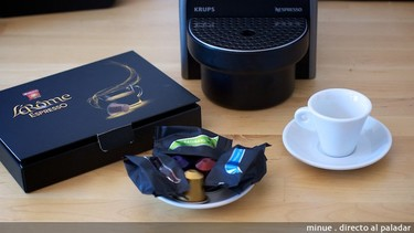 Nespresso versus Marcilla, comparativa de cápsulas de café