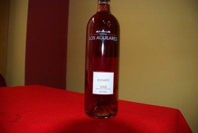 Cortijo de los Aguilares rosado. Carácter rondeño
