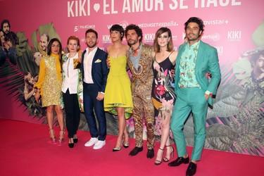 Vaya cantazo la alfombra roja del estreno de 'KIKI, el amor se hace'