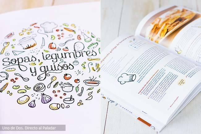 Libro Comer bien a diario interior