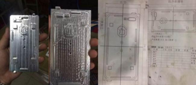 iPhone siete moldes