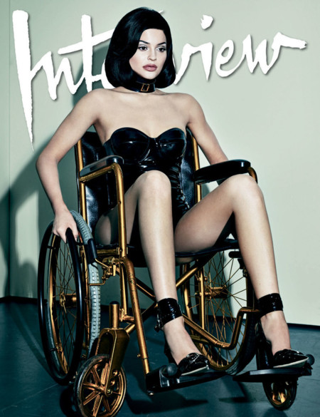 Kylie Jenner Interview Magazine Cover 2015