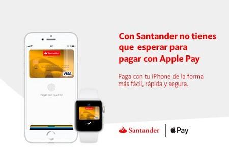 Las tarjetas VISA del Banco Santander ya pueden usarse con Apple Pay