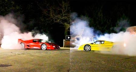 Tax The Rich: ahora Ferrari F50 vs Ferrari F50