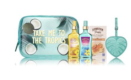 Hawaiian Tropic Giftbag Blue Take Me To The Tropics