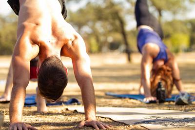 Pilates y yoga también para hombres