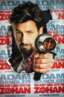 Póster de 'You Don´t Mess with the Zohan', con Adam Sandler