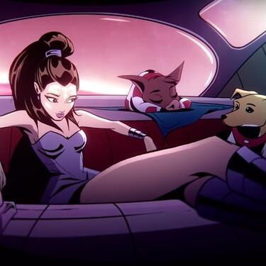 Ariana Grande, su cerdito y su perro protagonizan el corto animado de R.E.M, la nueva fragancia de la cantante