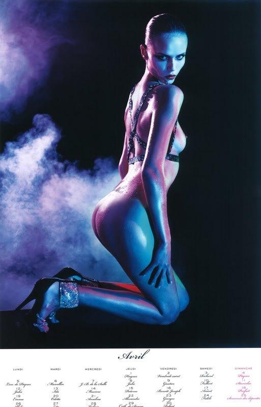 El calendario 2010 de Vogue París: erotismo y desnudos de las mejores modelos