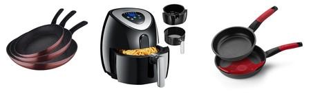 3 ofertas flash para nuestra cocina en sartenes y freidoras de marcas como Bra, Tidylife o San Ignacio disponibles en Amazon