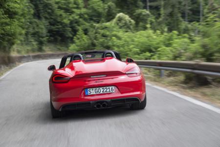 Porsche Boxster Spyder Toma Contacto 8