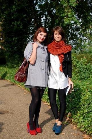 Street style en la Semana de la Moda de Londres