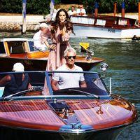 Isabeli Fontana e Izabel Goulart llenan de seda y volantes el Festival de Venecia