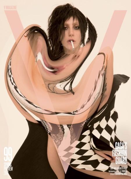 V Magazine y su número dedicado a Lady Gaga (con varias portadas)