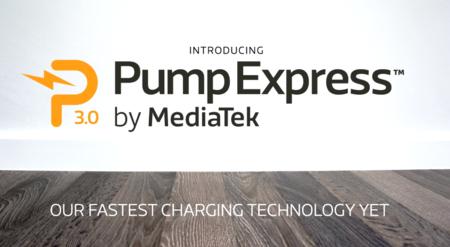 Pump Express 3.0, la nueva tecnología de carga rápida de MediaTek