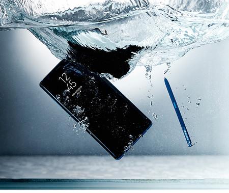Galaxy Note 8 Resistencia Agua