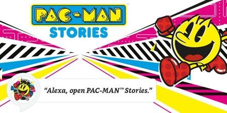 Así es Pac-Man Stories, una experiencia interactiva y educativa  para los dispositivos Amazon Alexa