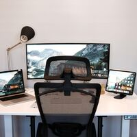 Amazon tiene a precio mínimo la silla perfecta para gamers y teletrabajadores: es de STmeng y está rebajada un 40%