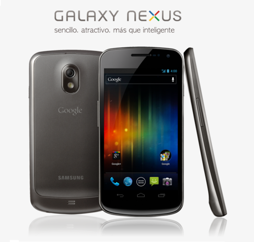 GalaxyNexus,elprimeroenllevarAndroidIceCreamSandwich