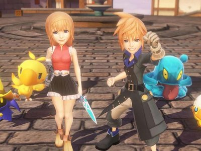 Comparan World of Final Fantasy en sus versiones de PS4 y PS Vita