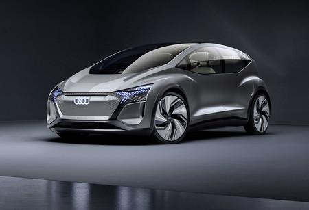 Este Audi AI:ME es un coche eléctrico, autónomo y con plantas en su interior que prevé el futuro de la movilidad