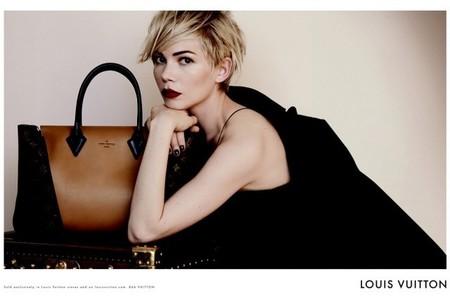 Michelle Williams se encarga de presentarnos la nueva campaña de Louis Vuitton