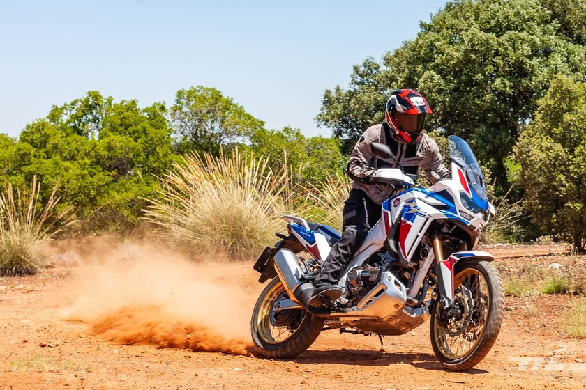 Africa twin - cover