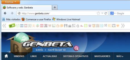 Firefox mostrar HTTP