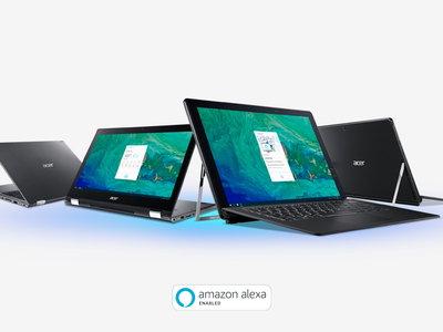 Acer ya tiene al a venta los primeros portátiles que cuentan con Alexa integrado en el ecosistema Windows