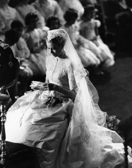 Boda real en Mónaco: los vestidos de novia de Grace Kelly, Carolina y Estefanía de Mónaco