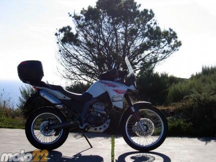 Las vacaciones de Moto 22, Finisterre-Plasencia