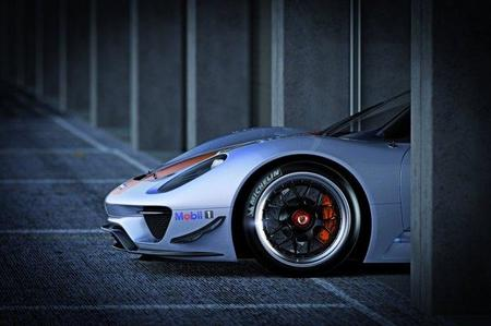 Porsche presenta el 918 RSR