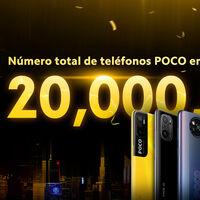 POCO vende mucho: acaba de alcanzar los 20 millones de teléfonos enviados