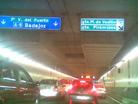 Los túneles de la M-30 no son totalmente seguros