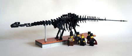El próximo domingo la réplica de Diplodocus 'Dippy' celebra su cumple en el Museo Nacional de Ciencias Naturales