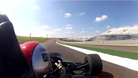 Calentando motores para el GP de Estados Unidos en el Circuito de las Américas