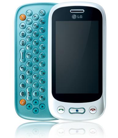 LG GT350, teclado QWERTY y pantalla táctil para los más jovenes