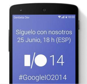 Sigue la Google I/O 2014