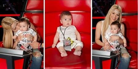Shakira y Milan La Voz