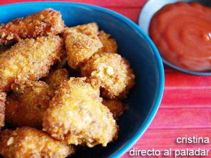 Nuggets de pollo. Receta