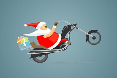 Papa Noel Moto 03