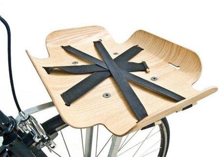 Bent Basket, original bandeja para la bici