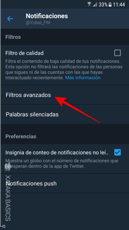 Filtros Avanzados De Twitter