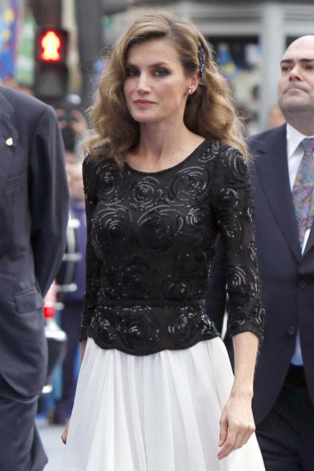 El look de la princesa Letizia en los premios Príncipes de Asturias